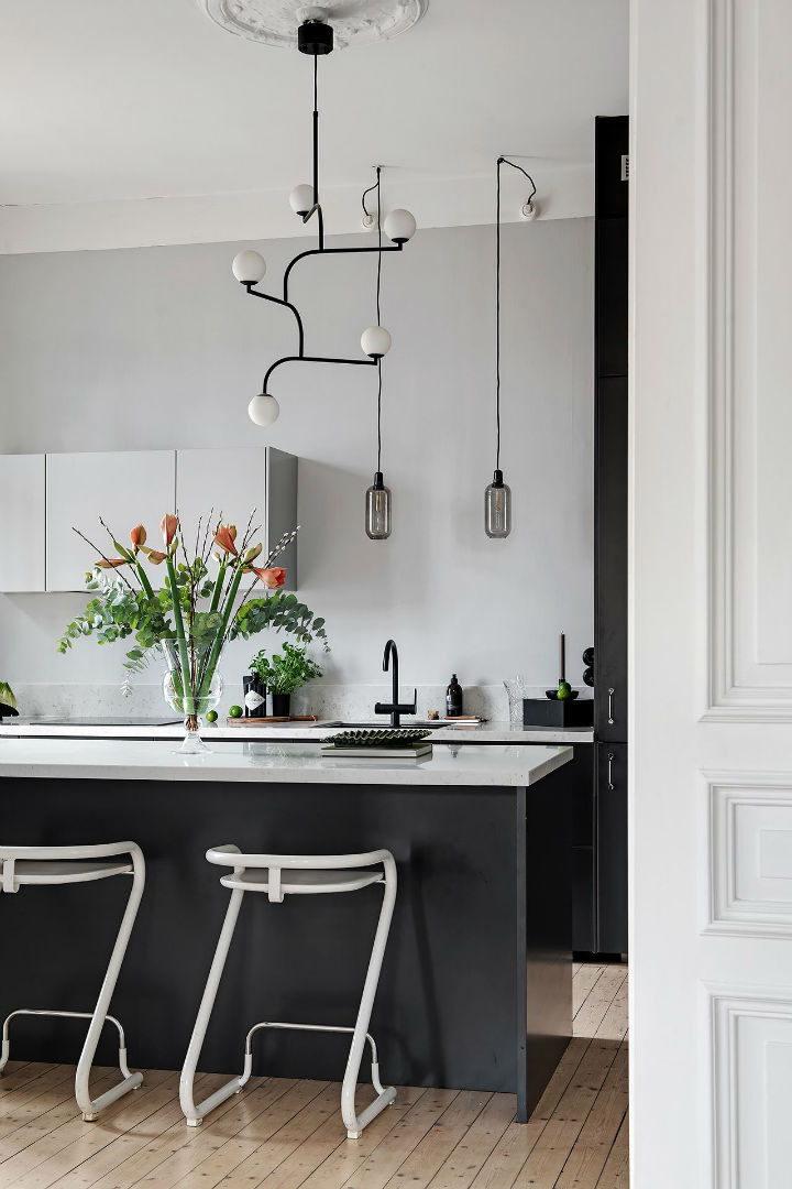 special lighting in kitchen