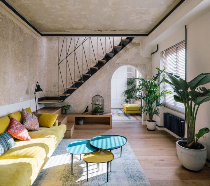 unique italian apartment