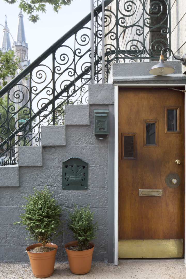Brooklyn Townhouse front door