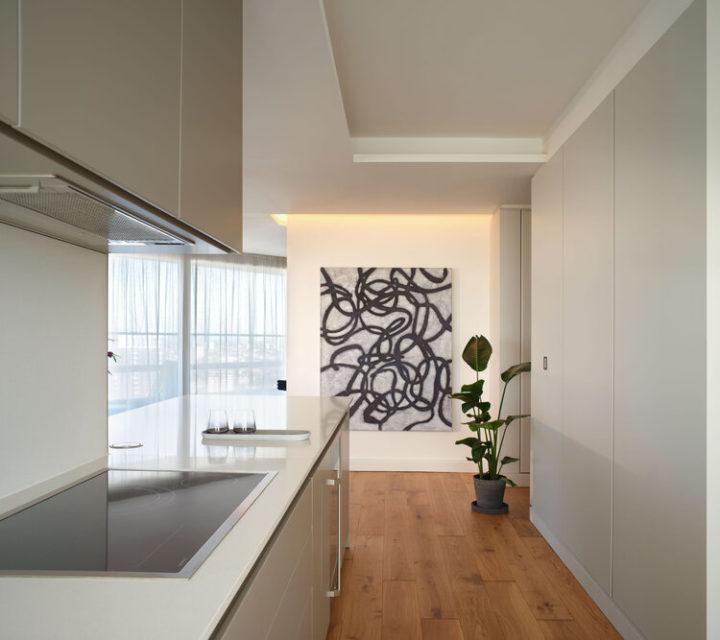 Light-Filled Innovative kitchen