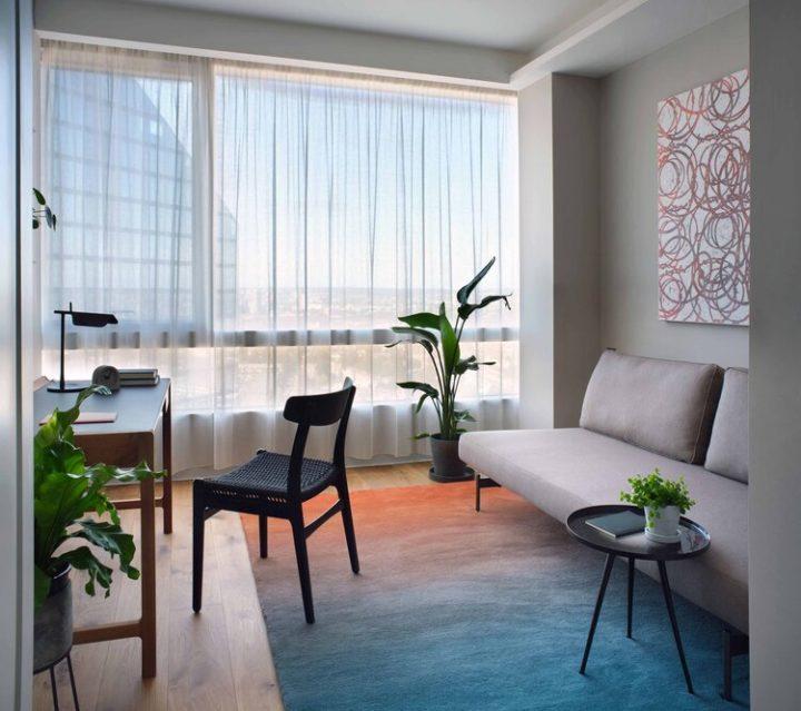 Innovative beautiful living room