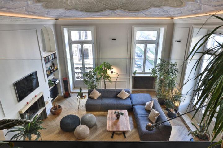 Italian contemporary apartment interior design 12