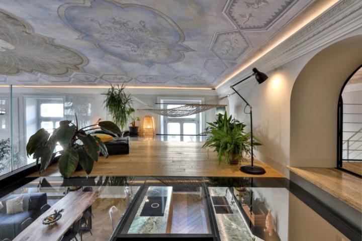 Beautiful Italian contemporary apartment interior design