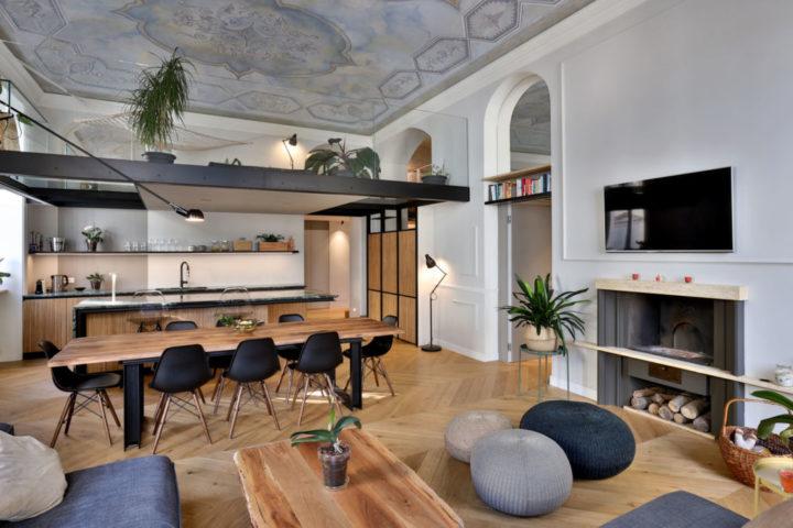 Italian contemporary apartment interior design 2