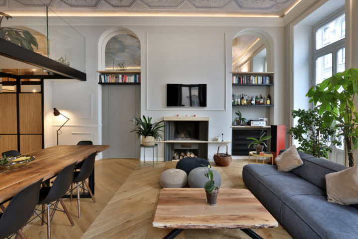 Italian contemporary apartment