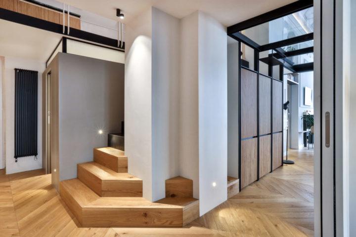 amazing Italian contemporary apartment