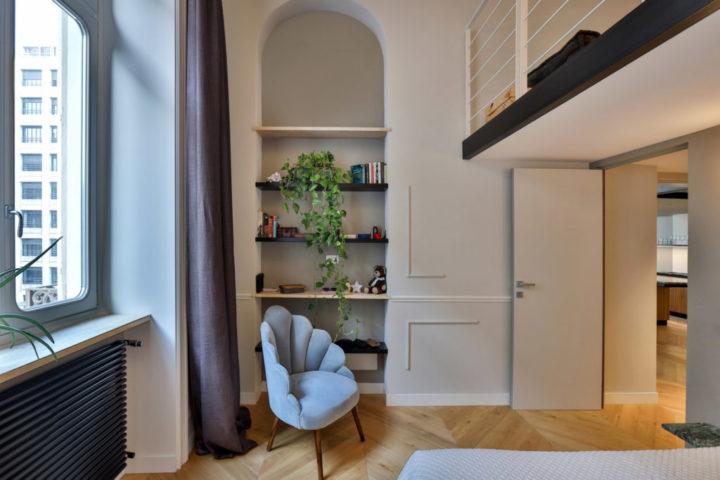 Italian contemporary apartment interior design 7