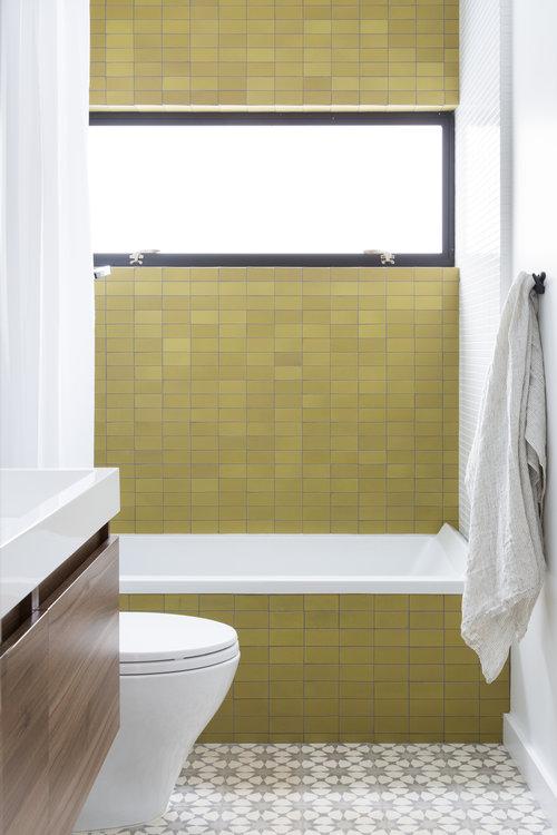 revival of  interior bathroom