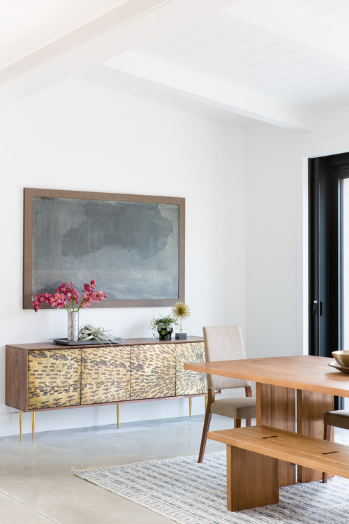 wooden table and other furniture