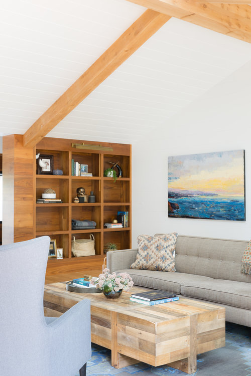 revival of interior with earthy tones
