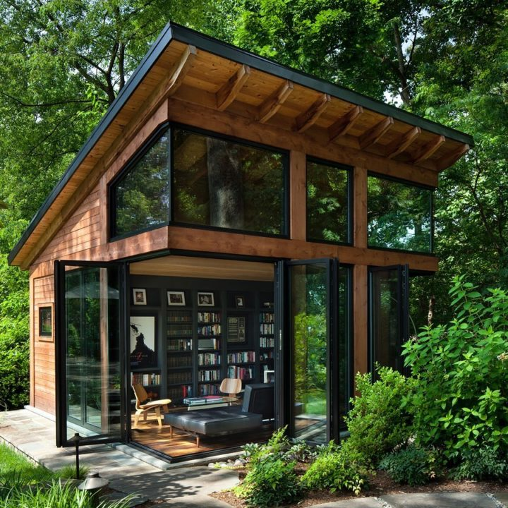 Dream Home Office For a Writer