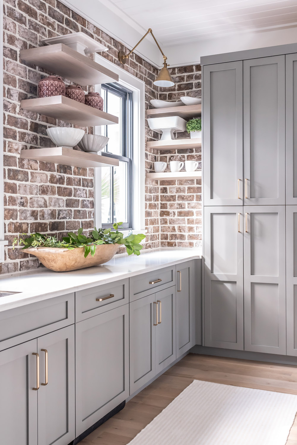 Image of: Kitchen With Gray Cabinets Why To Choose This Trend Decoholic