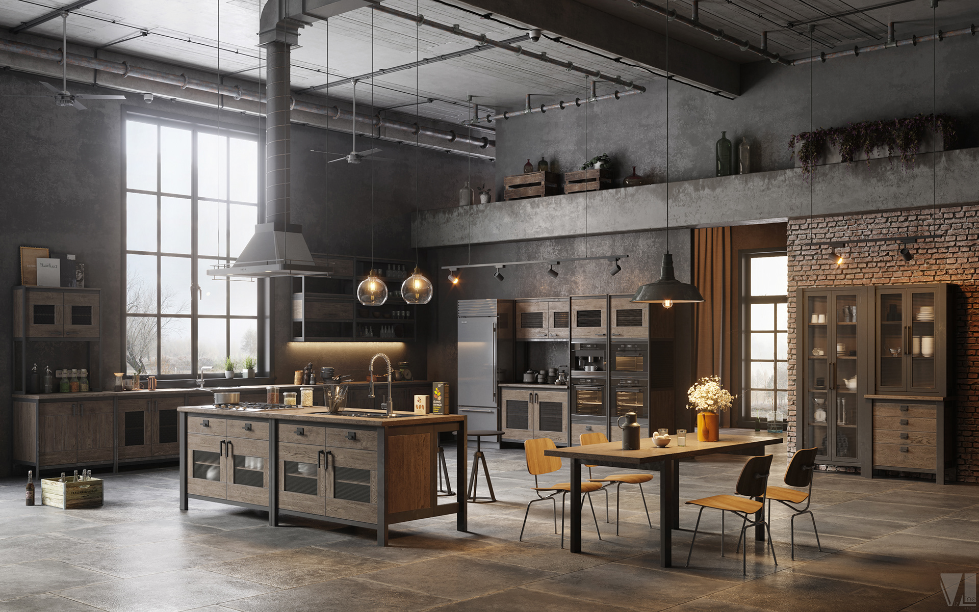 Amazing Loft Kitchen Designs That Will Blow Your Mind Decoholic