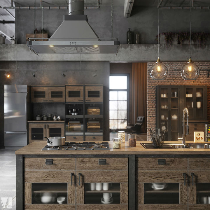 industrial Loft Kitchen Design 3