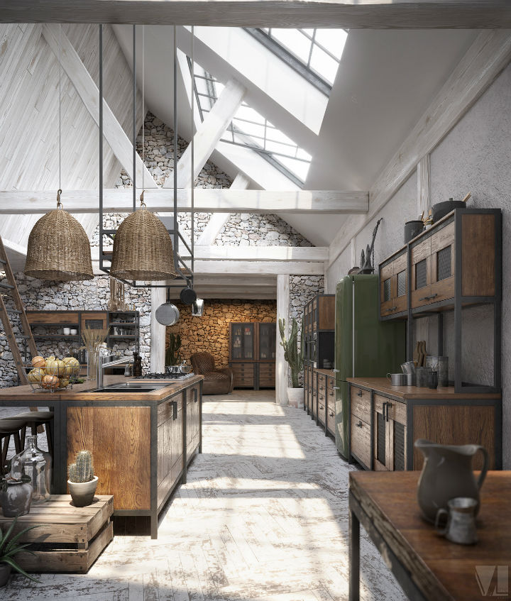 industrial Loft Kitchen Design 7