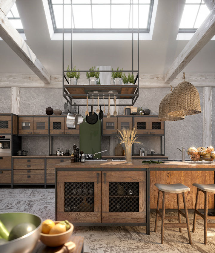 industrial Loft Kitchen Design 8
