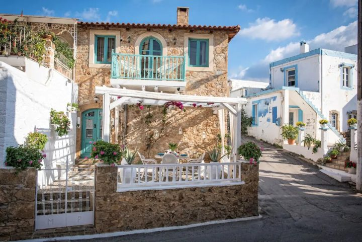 This Dream Traditional House Is The Best Airbnb Rental In Crete Greece
