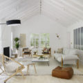 A Light Filled Scandinavian Inspired living room