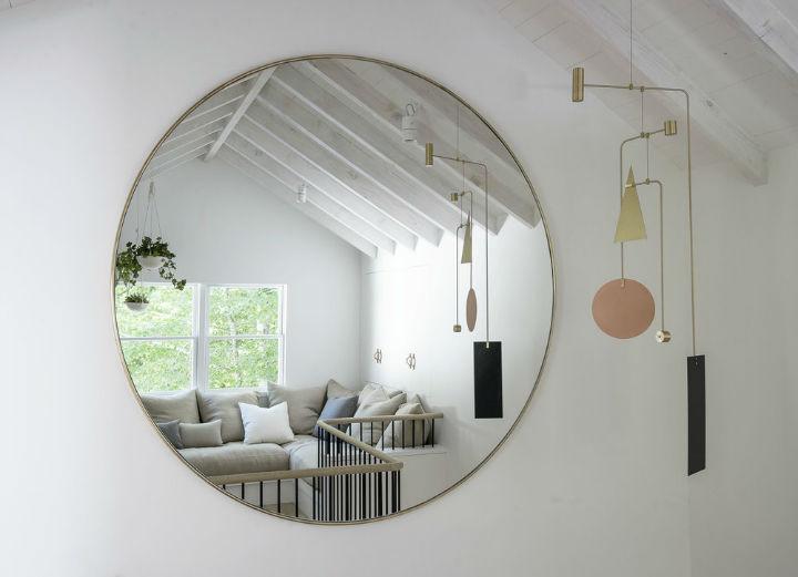 Scandinavian inspired fresh bedroom idea