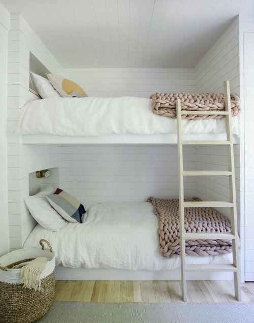 Scandinavian inspired fresh bunk beds