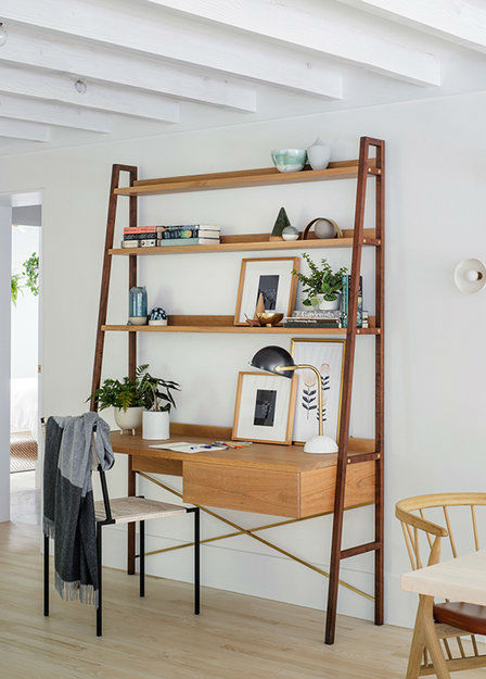 Scandinavian inspired home office