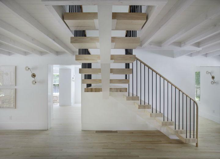 Scandinavian inspired staircase