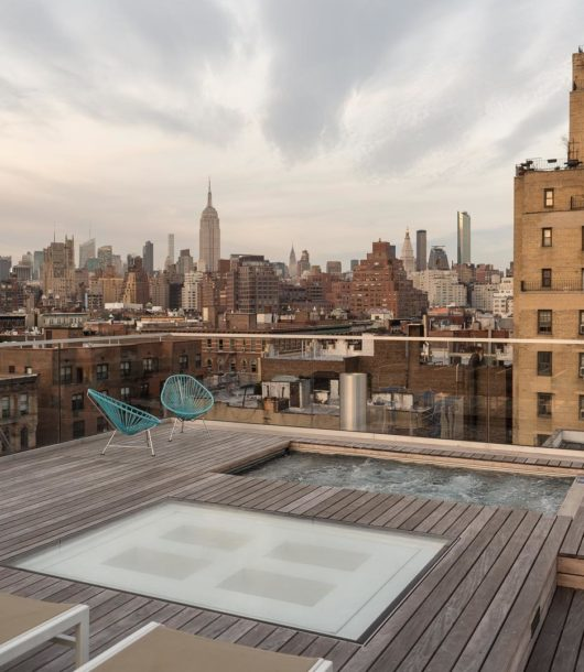 West Village Penthouse With an Amazing Private Roof