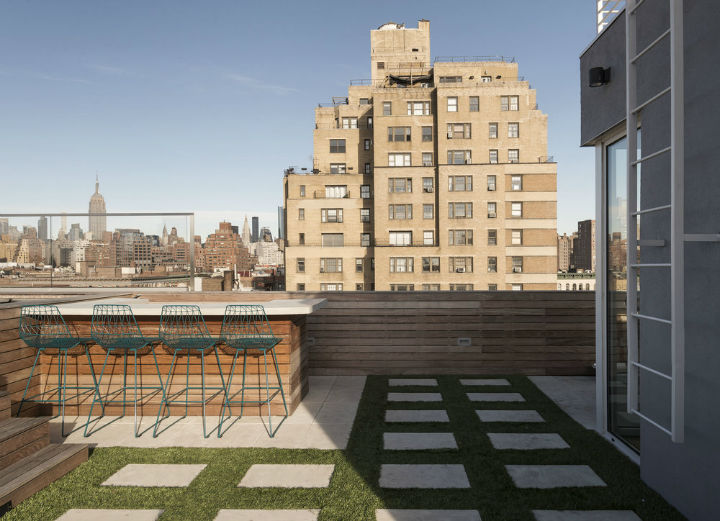 West Village roof bar