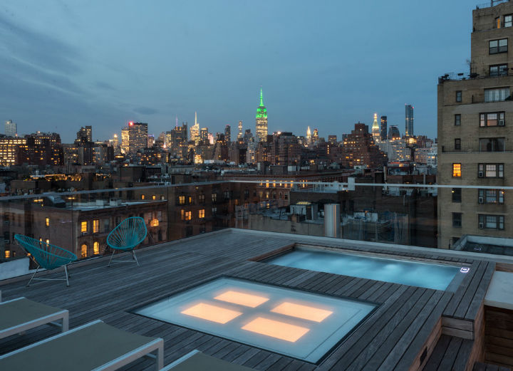 West Village amazing roof