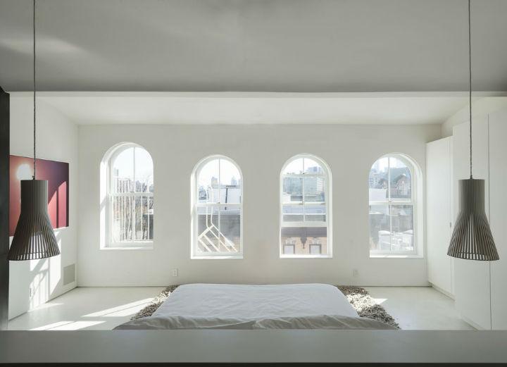 minimalist white bedroom design