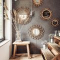 Decorating Walls With sun Mirrors