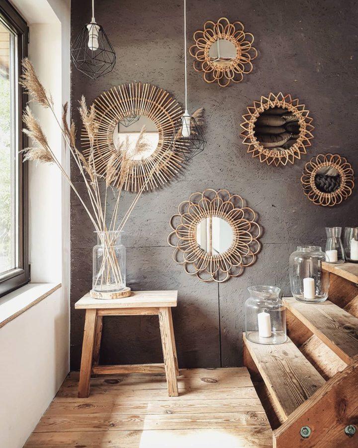 Décorer les murs avec des miroirs solaires