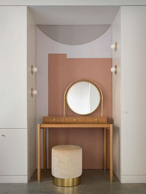 fresh happy pearl loft mirror