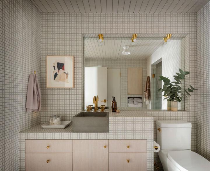 modern fresh light grey bathroom design pearl loft