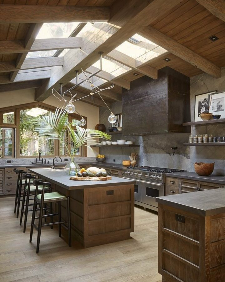 Malibu kitchen interior design style