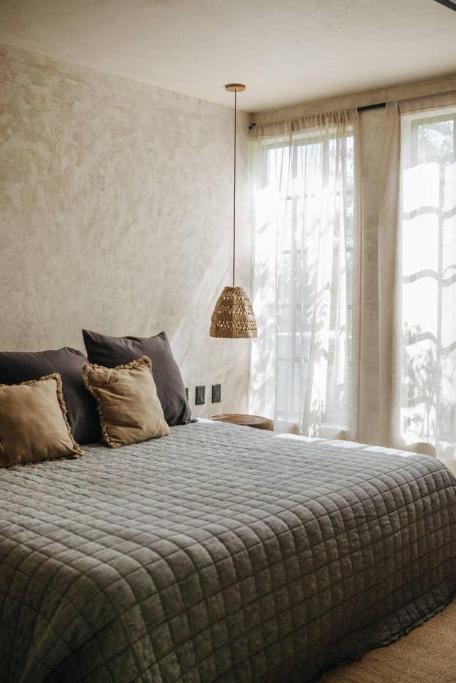 bohemian contemporary bedroom