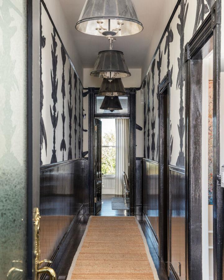 desain aula hitam dan putih abadi