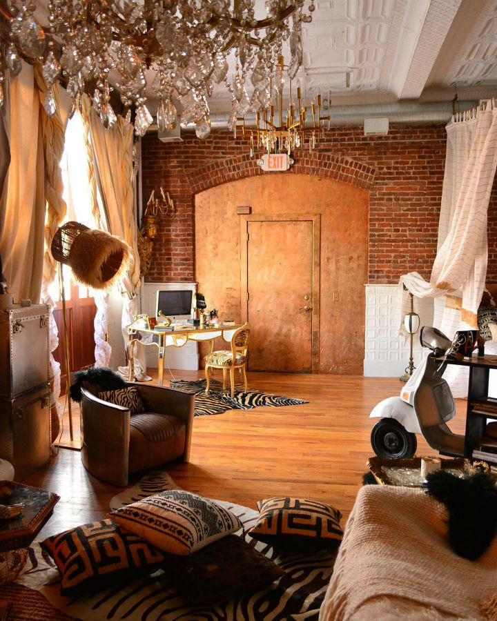 old firehouse turned into home loft