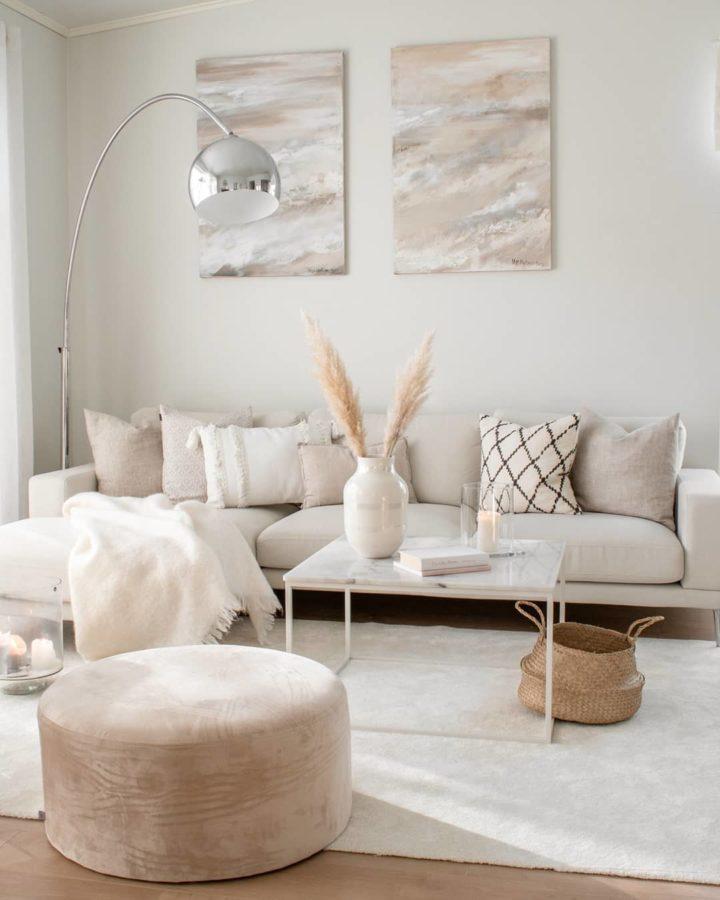3 Analogous Colors living room decor