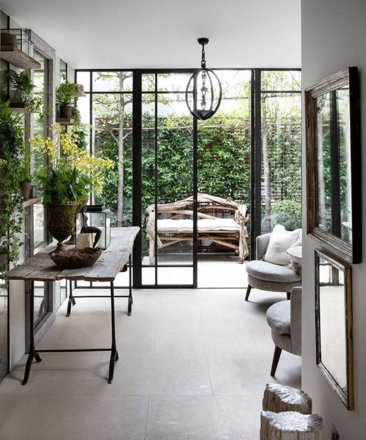 Casa que transmite a sensação de calma, mantendo um visual elegante 7