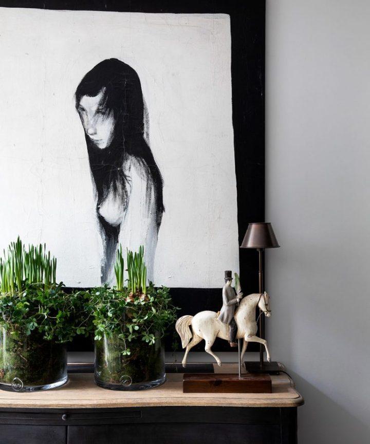 Urbano moderno elegante Londres casa interior 10