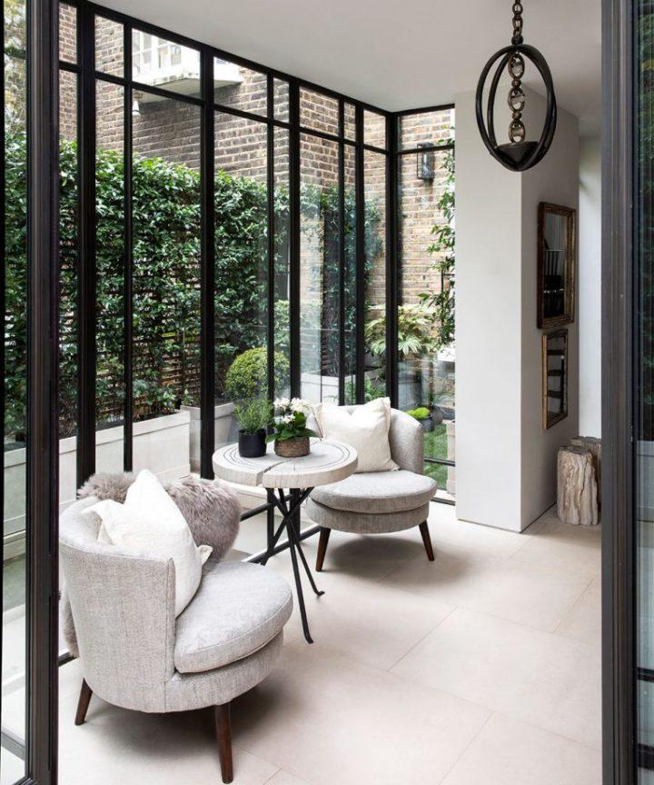 Urbano moderno elegante Londres interior de casa 11