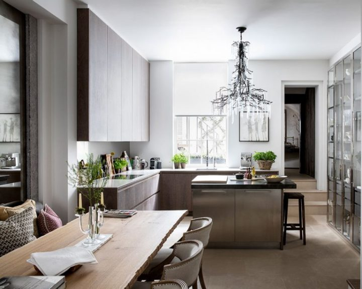 Urban modern elegant London home interior 12