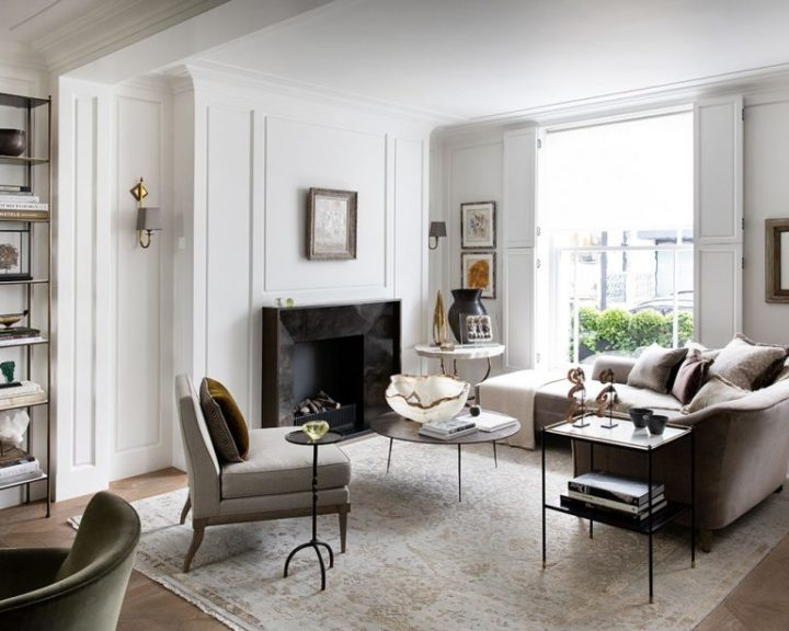Urban modern elegant London home interior2