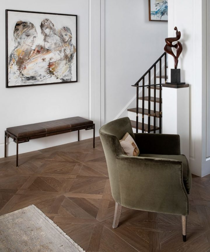 Urban modern elegant London home interior3