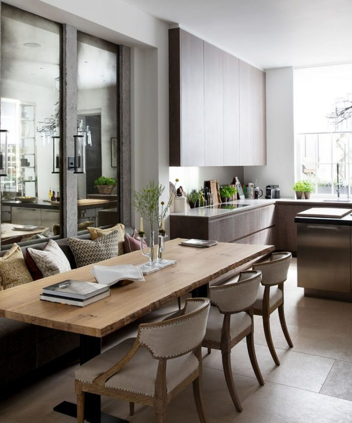 Urban modern elegant London home interior4