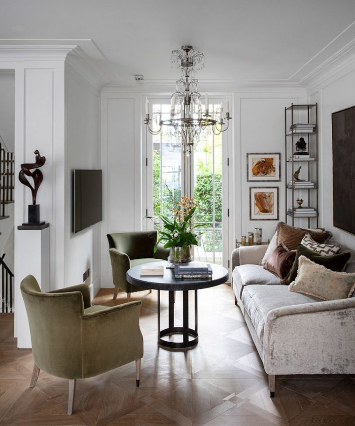Urban modern elegant London home interior 8