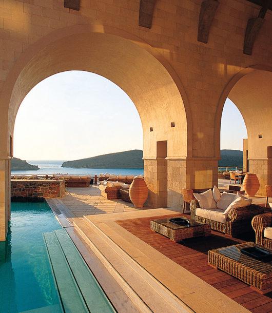 Blue Palace resort in Crete