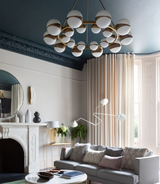 Classic Contemporary English living room interior design