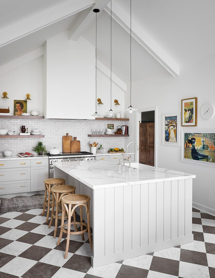 Amazing Large Kitchen Remodel Inspired by the South of France